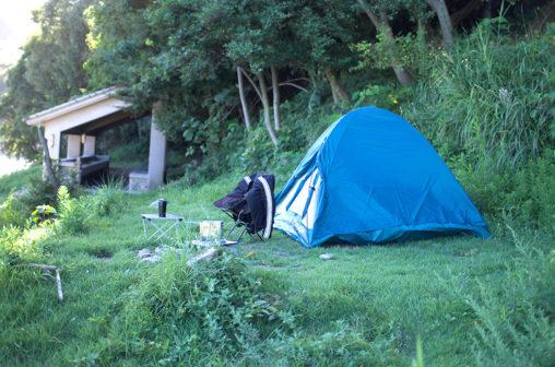 丸山県民サンビーチ ソロキャンプ
