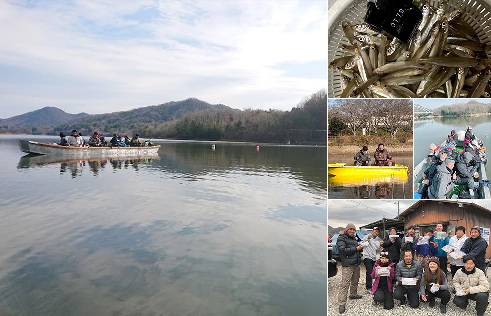 ワカサギ2018-12-16 青野ダム
